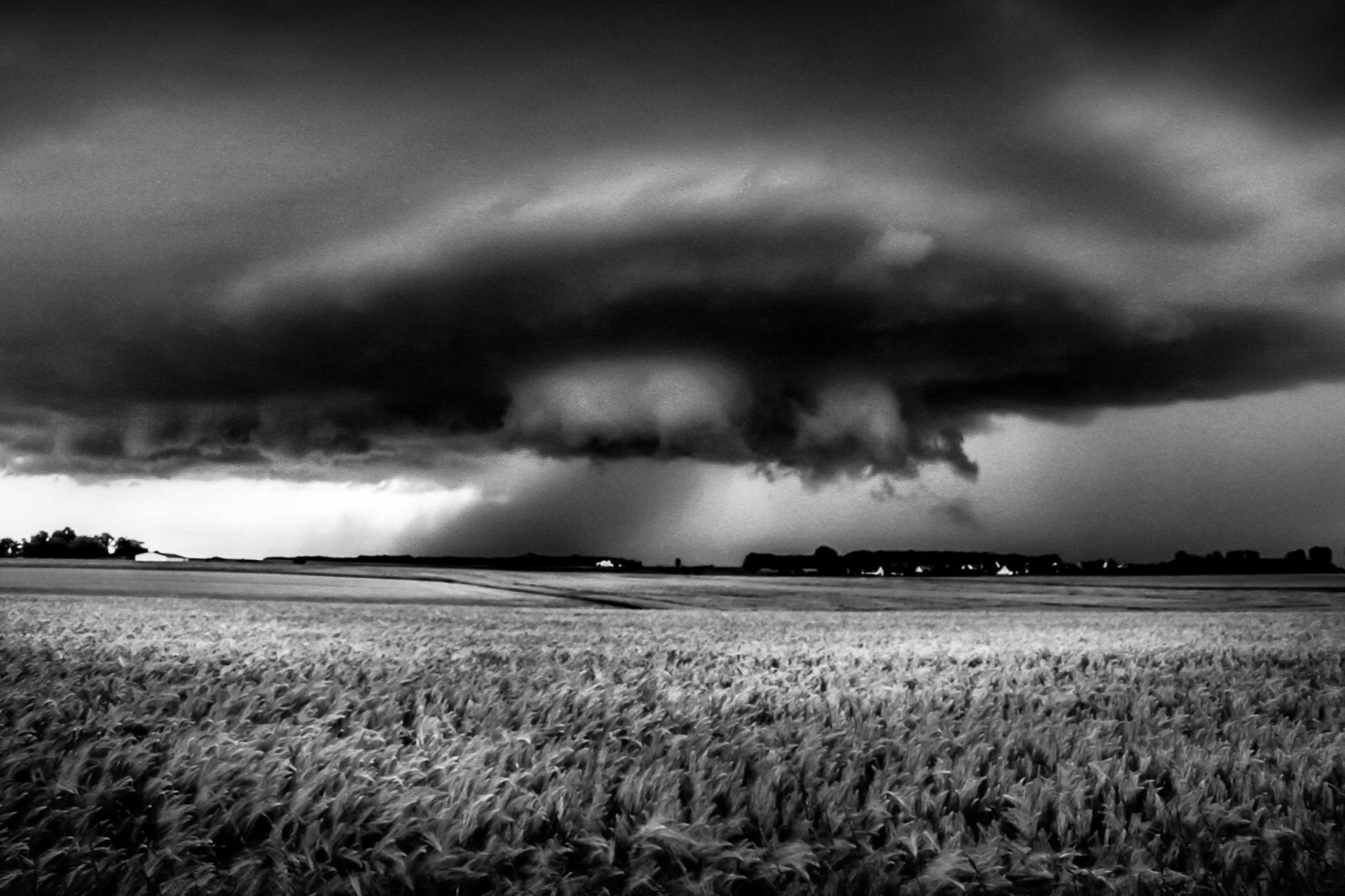 Sturm bei Burgstall/ Herzogenaurach